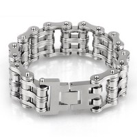 Motorcycle Bike Chain Bracelet Men S Bracelet Jewelry Designer High Grade Men Friendship Bracelet Natural Stone