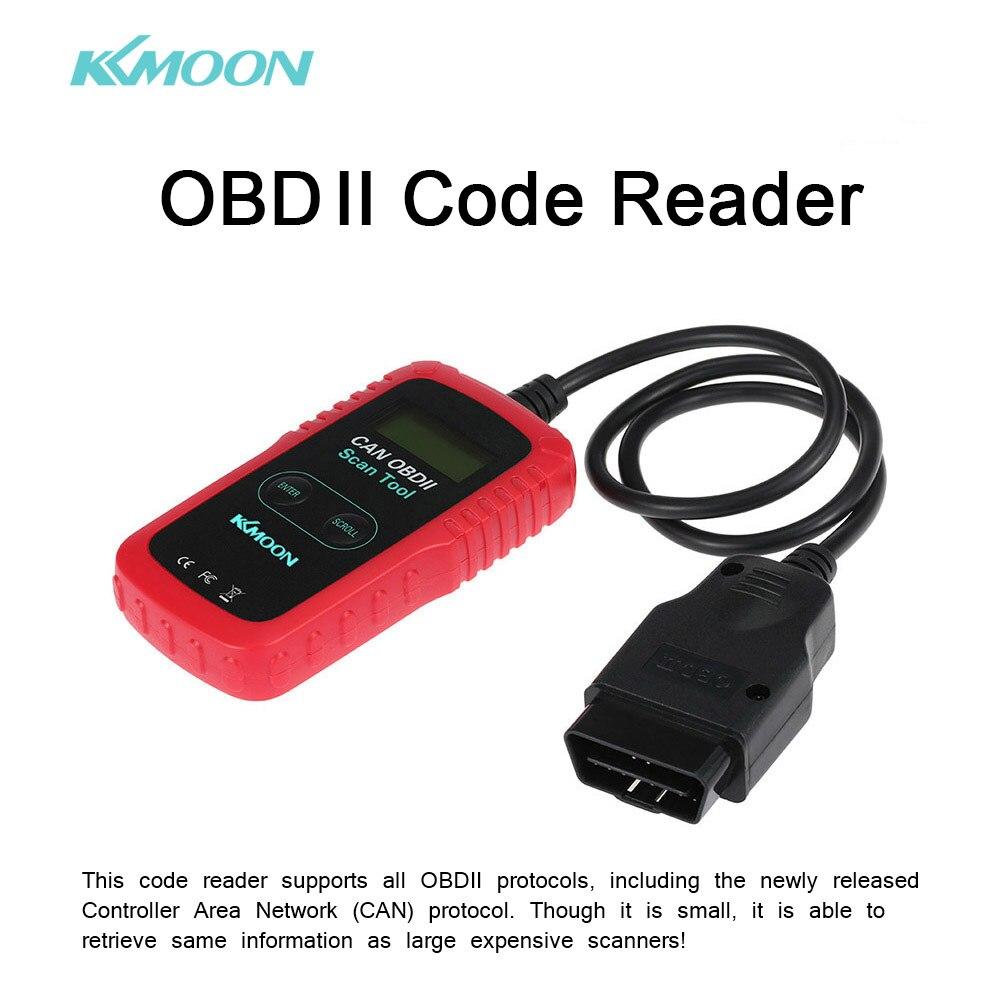 kkmoon car diagnostic tool obd obdii code scanner smart scan tool code reader car detector. Black Bedroom Furniture Sets. Home Design Ideas
