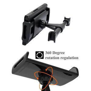 Image 4 - 자동차 헤드 레스트 마운트 스탠드 닌텐도 스위치, 닌텐도 스위치 NS/아이폰/iPad/아마존 킨들의 화재에 대한 조절 홀더