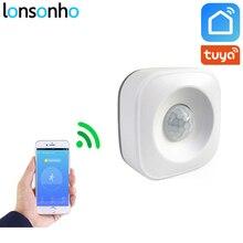Lonsonho Smart Wifi Pir датчик движения сигнализация инфракрасный детектор движения работает с IFTTT Smart Life Tuya Smart App