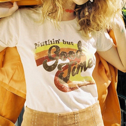 Female Tumblr Tee Tshirt Women T-shirt Top Hippie Letter Tees Casual Printed Tops Shirt Printing Graphic Festivals 5