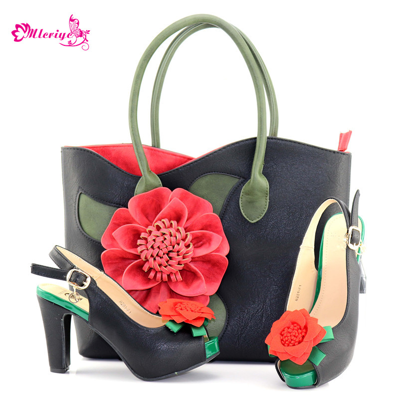 Italian Shoes with Matching Bags Nigerian Women Wedding Shoes and Bag Set Italian Ladies Shoes and Bags To Match Set italian gold color italian ladies shoes and bags to match set nigerian shoes and matching bag african wedding shoes and bag set