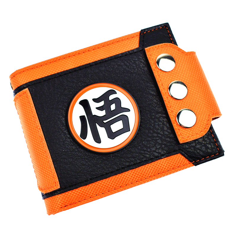 New Arrival Cute Design Dragon Ball Wallet Short Purse With Sequined  Men's Wallets