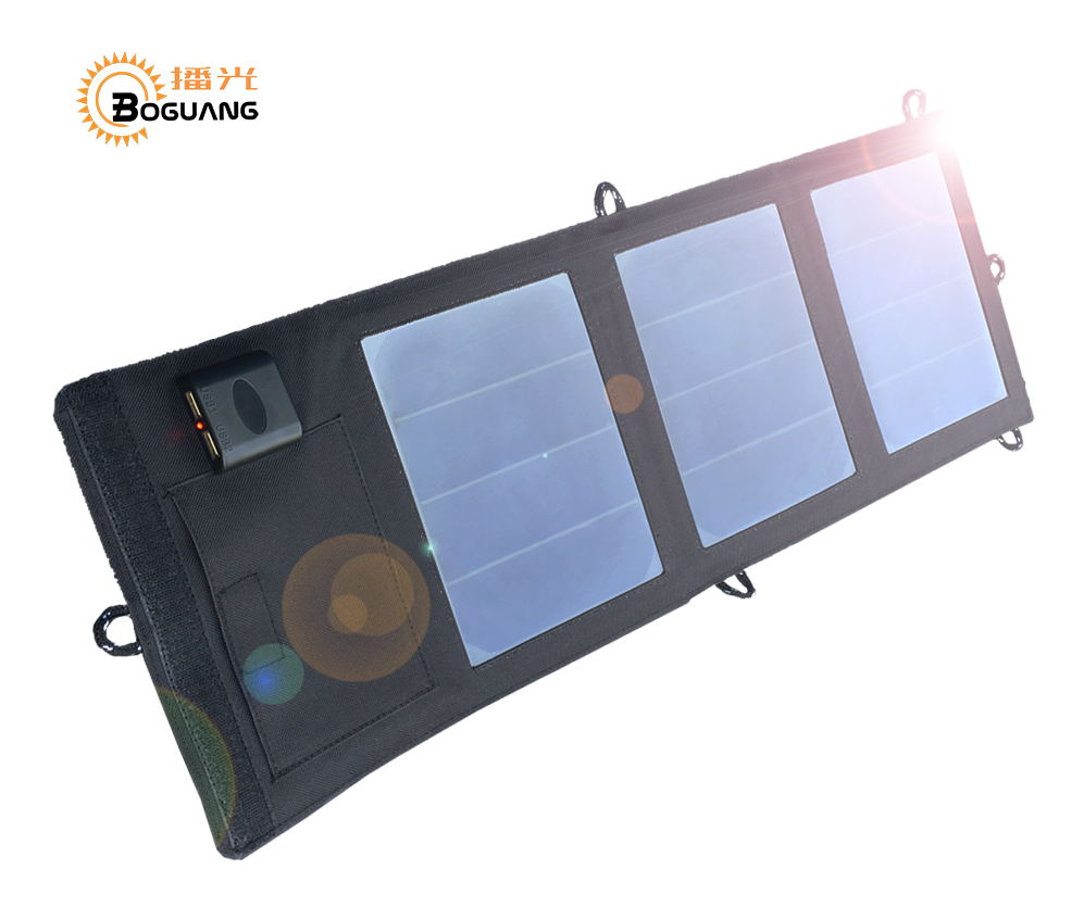 Boguang Folding Foldable Waterproof Solar Panel 6v/12w 2A solar Dual USB Port Portable Solar Power Panel cell Phone charger original 21w 5v 2a 2 mic ports portable foldable solar charger with folding sun power solar panel for mobile phone