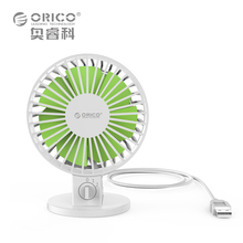 ORICO UF1-WH USB Fan Flexible USB Portable Mini Fan for Notebook Laptop Computer Power with Key Switch Angle adjustable  – White