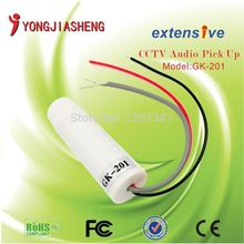 10pcs Mini CCTV Microphone For Security Camera Audio Surveillance DVR CCTV Mic Sound Monitor