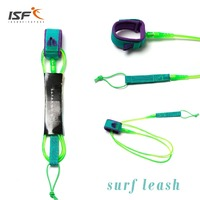 Double Color Surf Leashes Leg Rope Surfboard Straight Leash