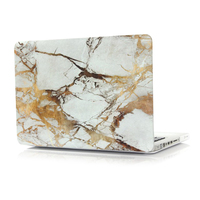 Marble White Yellow Brown Texture Case Laptop Bag Case For Apple Macbook 12 Retina