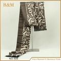 2016 новинка мужчины зима и осень шарфы письмо хлопка печать bufandas бренда большой размер мягкий шарф шоу