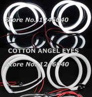 2018 NIEUWE KATOENEN LED Angel eyes Halo ring kit voor MAZDA3 mazda 3 atenza axela M3 Sedan hatchback 2004- 2011 hoge helderheid