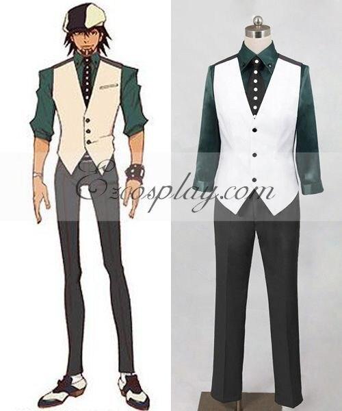 Tiger & Bunny Kotetsu T. Kaburagi (Wild Tiger) Cosplay Costume (Vest Only