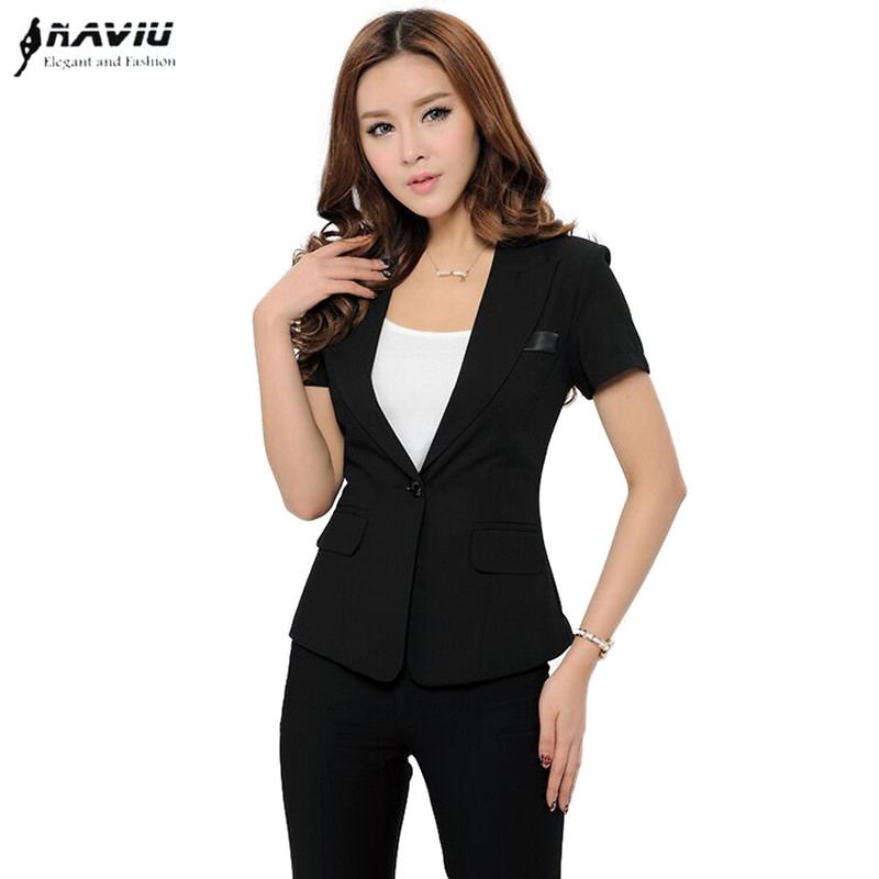 Aliexpress.com  Buy 2018 New Fashion Women Business Pant Suits Formal Office Work Plus Size ...