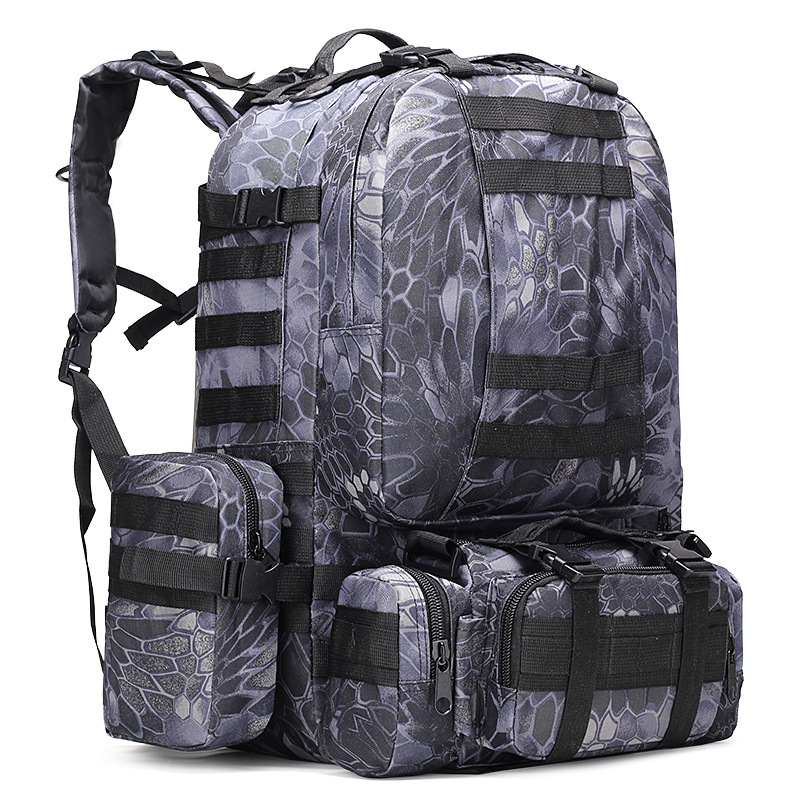 Army Backpack 50l-70l Military Camouflage Backpack Tactical Military Backpack Molle For Camping Large Military Backpack 50l hunting backpack tactical backpack 50l men bags backpack hunting waterproof mochila tactical military mochila 50l molle hunting