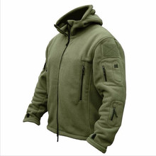 2017 Military Man Fleece tad Tactical Softshell Jacket Polartec Thermal Polar Hooded Coat Outerwear Army Clothes
