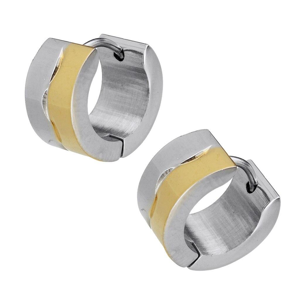 fe9d1c3479ea3 Wholesale 24 pairs Unisex Women Men 316 Stainless Steel hoop ...