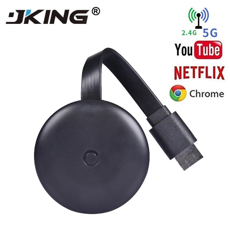 HDMI Visor do Receptor Sem Fio 5G 4 K 1080 P Tela Do Celular Wi-fi Adaptador Dongle Chromecast Espelhamento Elenco Empurrador Mesmo tela