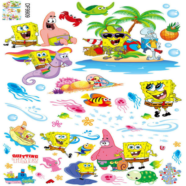 Online Buy Wholesale Spongebob Wall From China Spongebob Wall - Spongebob room decals
