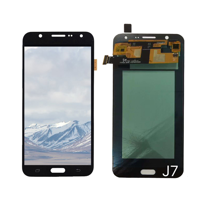 J7 LCD AMOLED OLED For Samsung Galaxy J7 2015 J700 J700F J700M J700H LCD Display Touch Screen Digitizer Assembly J700 LCD J70F in Mobile Phone LCD Screens from Cellphones Telecommunications