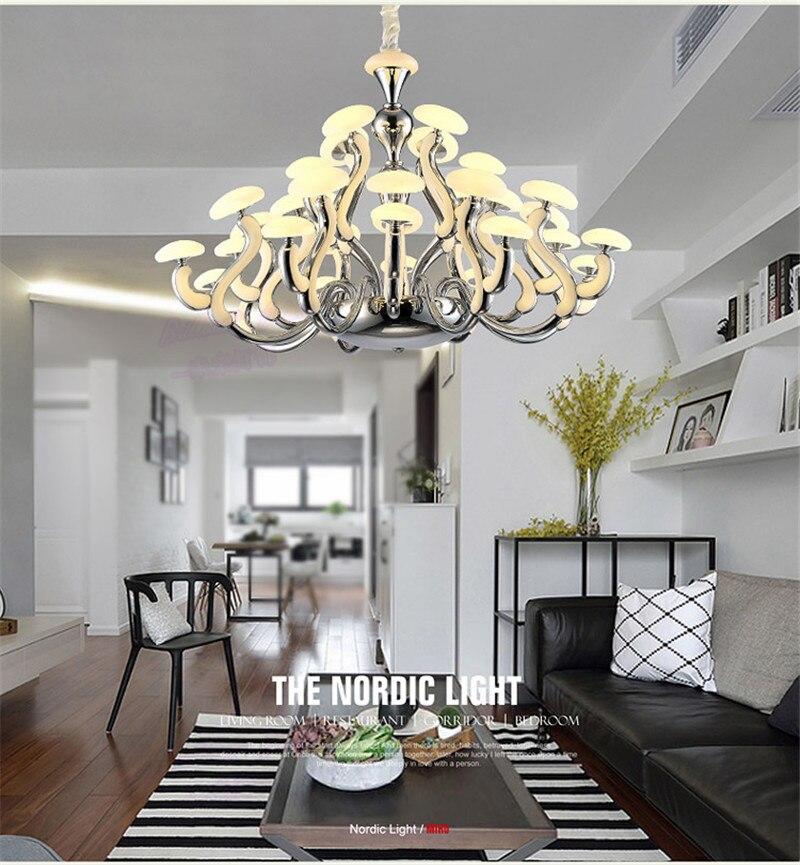Lampe de chambre à coucher de restaurant de village contracté de haute qualité en europe du nord avec personnalité