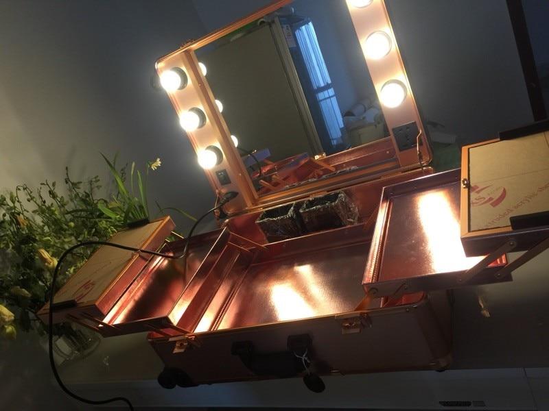 Picture Lampen Zug Künstler Make Fall up Roll Box as Kosmetische As Picture Mit Maskenbildner Abschließbare BaaZA4q