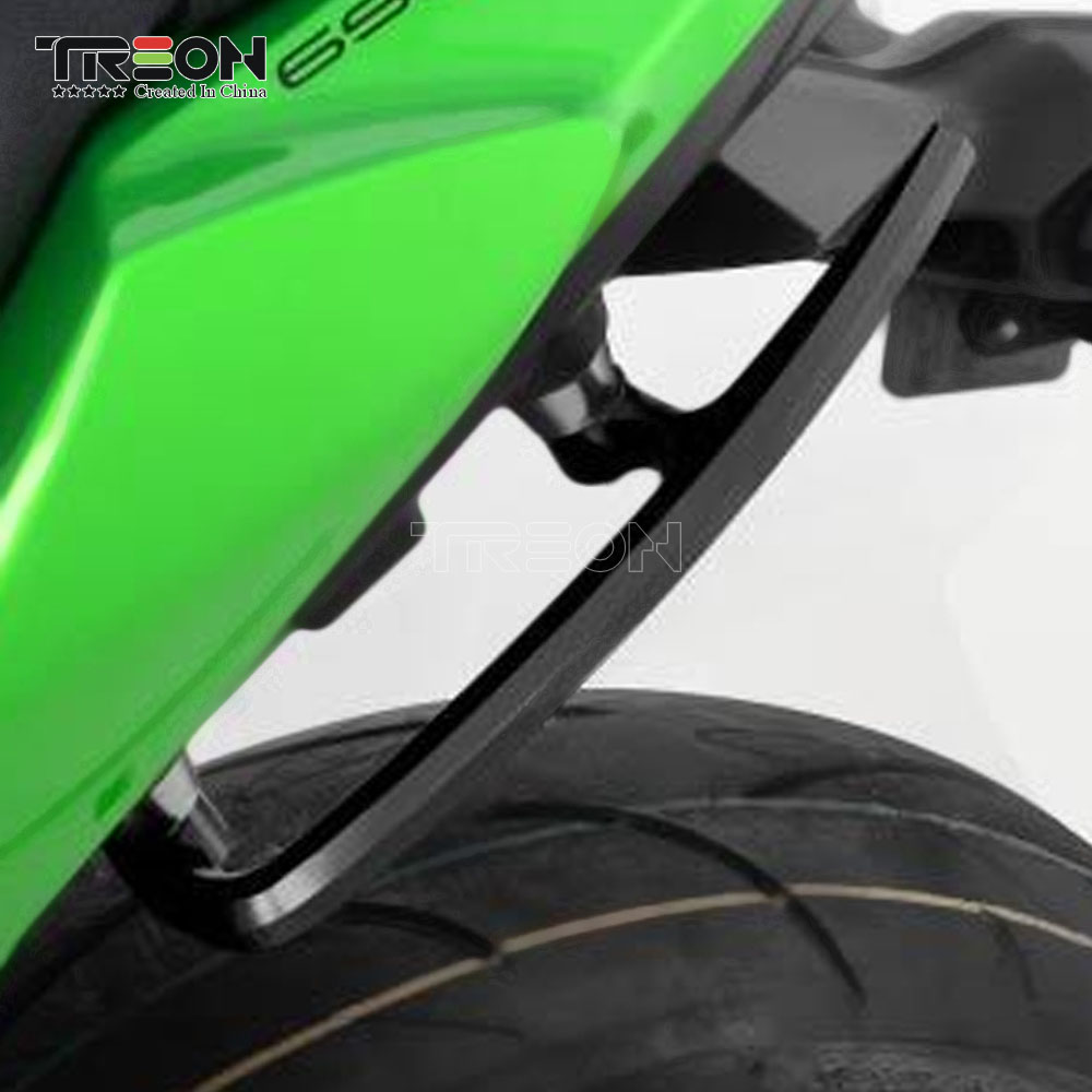 Для Kawasaki Z650 Z 650 2017 2018 задние сиденья рукоятка заднем поручень подлокотник ЧПУ Алюминий Аксессуары для мотоциклов
