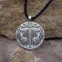 1pcs Yggdrasil Pendant Tree Of Life World Tree Pendant Irminsul Viking Pendant