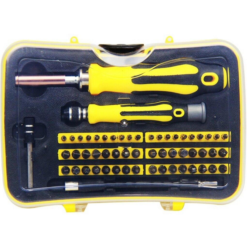 57 in 1 Screwdriver Set Precision Magnetic Bit Electronic Repair Hardware Tool Mobile Phone Laptop Repairing Kit