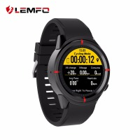 LEMFO GPS Watch Running Sport Smartwatch Heart Rate Monitoring Support SIM Bluetooth Dial Call Smart Watches For Men