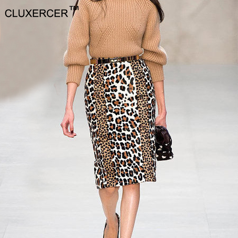 Popular Leopard Print Pencil Skirt-Buy Cheap Leopard Print Pencil ...