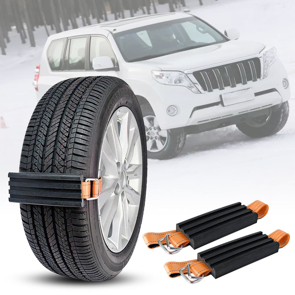 GLCC Super wear-resistant TPR tire snow chain car tire snow snow chain Anti-Skid Snow Mud Adjustable Emergency Anti Skid Strap wood grain flannel skid resistant rug