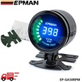 EPMAN racing 52mm Smoked LED RPM Tacho Tachometer Gauge Meter with bracket EP-GA50rpm-FS