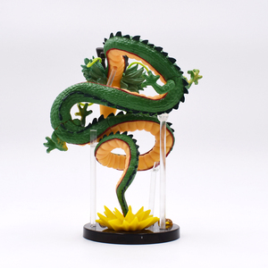 Image 3 - 15 cm Anime yeşil ejderha ShenRon ShenLong PVC Action Figure koleksiyon Model oyuncak ücretsiz kargo