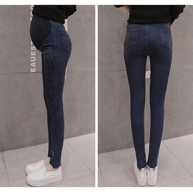 9a788341a Pantalones vaqueros elásticos para mujeres embarazadas ropa Skinny Jeans  Mujer maternidad pantalones lactancia embarazo ropa Leggings  PantalonesConsejos ...