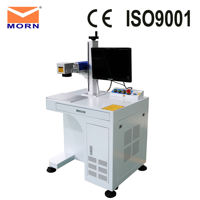 CNC fiber metal engraving laser marking machine for metal and nonmetal plastic nameplate