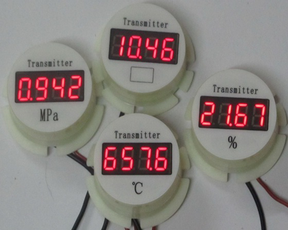 2088 Passive Two-wire System Header 4-20mA, Temperature, Pressure Display, Meter, Header Percentage