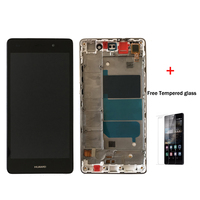 Original 5 0 For Huawei P8 Lite ALE L04 ALE L21 LCD Display With Touch Screen