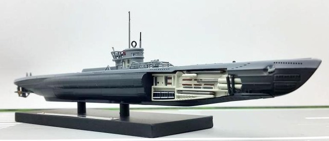 ATLAS 1:350 II Guerra Mundial U U214 submarino submarino modelo Rare collection modelo