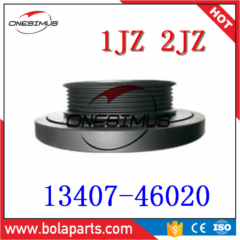 OEM 13407-46020 High quality rankshaft pulley*Suitable for T- 1JZ 2JZ ALTEZZA ARISTO MARK 2 CROWN