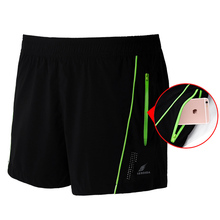 Mens Polyester Training Shorts M-3XL Plus Size Tracksuit Night Running Shorts Loose Sports Trunks Man Fitness Short Trousers