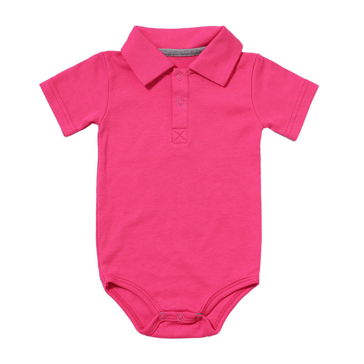 HTB1r363anQspeRjt a0q6zPbFXaQ Summer Baby Boy Girl Rompers Turn-down Collar Infant Newborn Cotton Clothes Jumpsuit For 0-2Y Toddlers Bebe Outfits