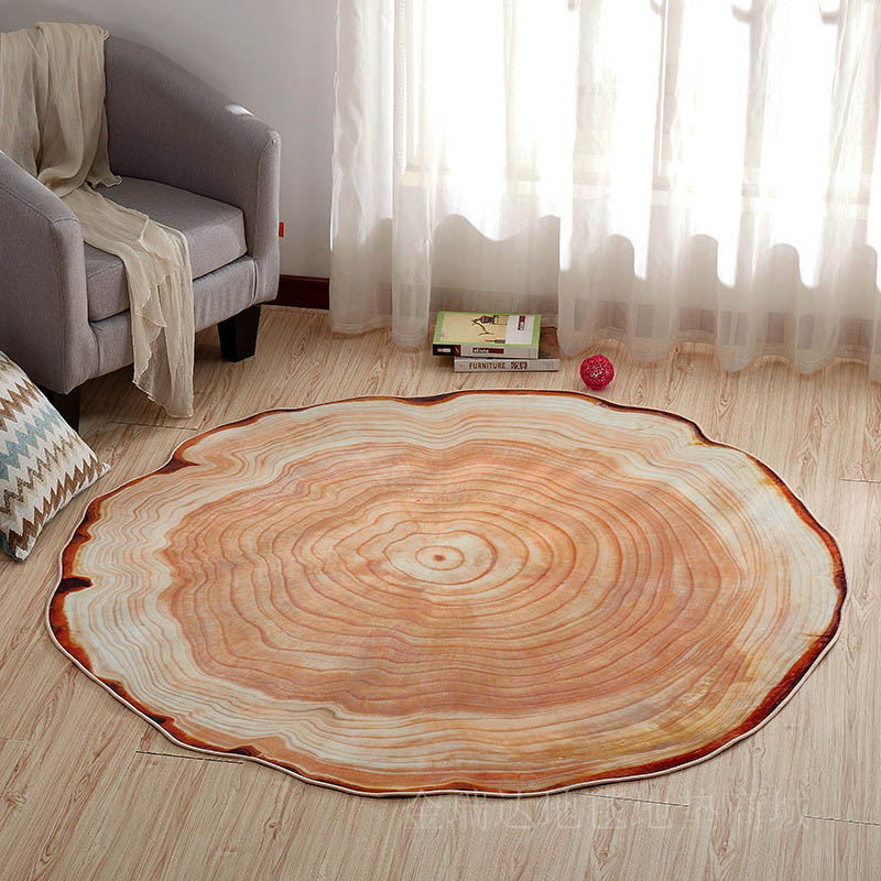 US $14.08 36% OFF|Modern Round Big Living Room Anti slip Tatami Floor Mat  Carpet Sofa Bedside Yoga Pads Area Rugs for Bedroom Table Boudoir Mats-in  ...