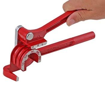 Trzy-w-jednym instrukcja giętarka do rur maszyna do gięcia rur 180 stopni metryczne 6mm 8mm 10mm giętarka do rur maszyna do gięcia rur tanie i dobre opinie Other Rury i rury giętarka Manual Pipe Bender