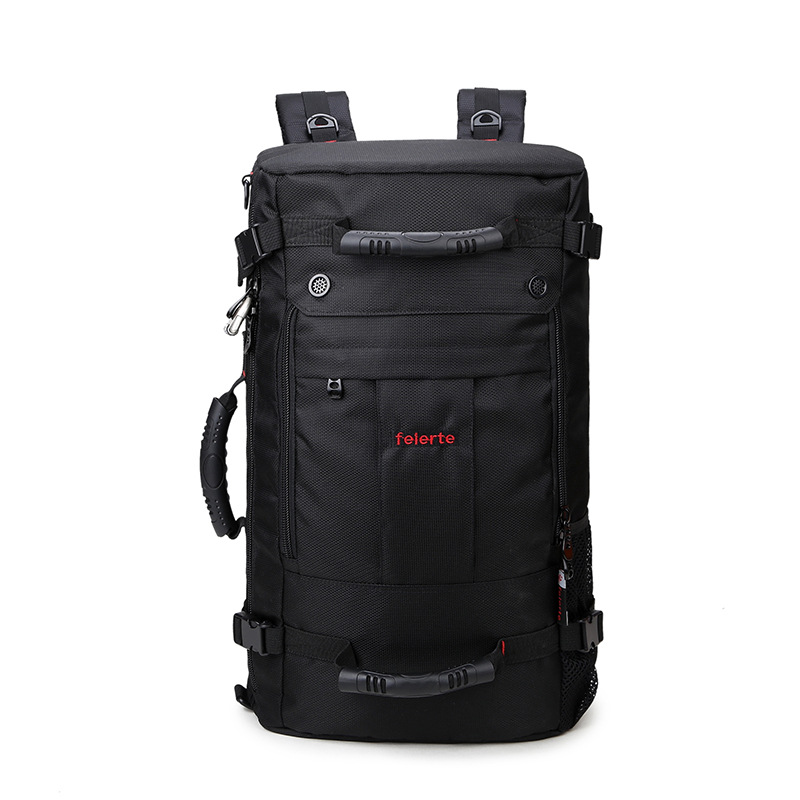Men Casual Anti Theft Black Backpack Waterproof Large Capacity Travel Laptop Bag Male Multifunction Back Pack все цены