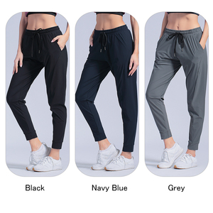 Image 3 - หญิงกีฬากางเกงไนลอนQuickแห้งกางเกงวิ่งกางเกงโยคะพ็อกเก็ตหลวมBreathableสตรีJogging