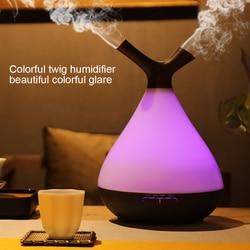 400ml nawilżacz powietrza aromaterapia ultradźwiękowa dyfuzor zapachowy z LED Night Light oczyszczacz rozpylający mgiełkę atomizer dla domu w Nawilżacze powietrza od AGD na