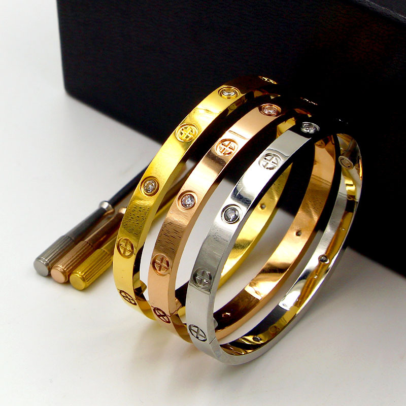 987969335bc0e Hot Price] Luxury Titanium Classic Design Cross Bracelets Bangles ...
