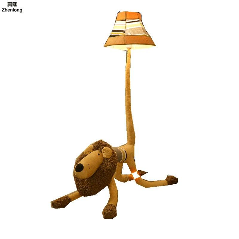 Cadeau de noël rigolo!! Lampe de chat Dimmable chambre d'enfants éclairage Animal jouet lampe enfants dessin animé lampadaires pour salon