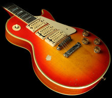 "10S Custom Shop Ace Frehley ""Budokan"" Aged and Signed Electric Guitar Heritage Cherry Sunburst"