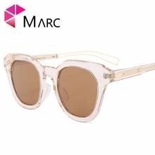 MARC UV400 2018 NEW WOMEN MEN sunglasses Square Cat eye Wrap Gradient Sver  Mirror Leopard