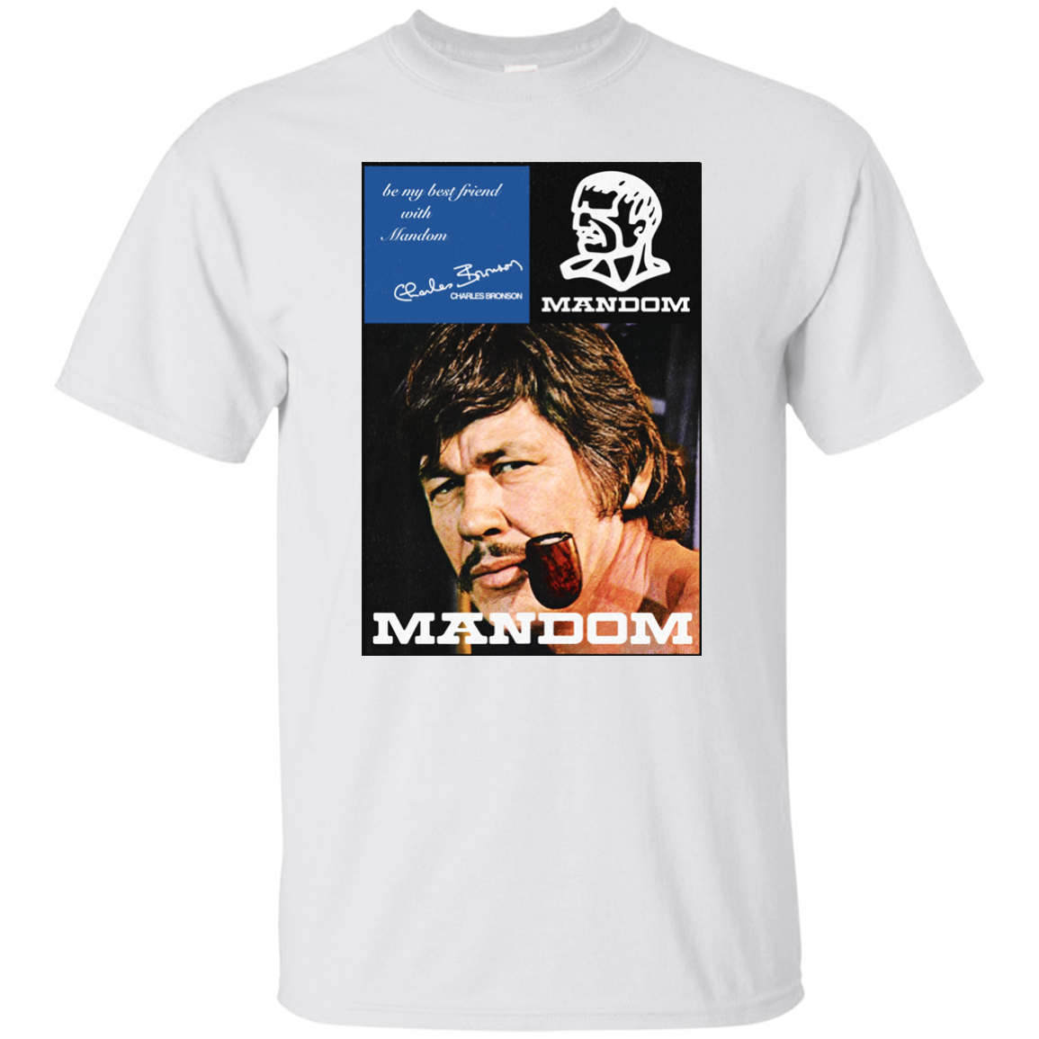 Mandom, Cologne, Aftershave, Charles Bronson, Retro, 1970s, Seventies, G200 Gil Tee Shirt Unisex More Size And Colors